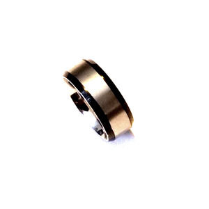 New stainless steel ring size 8